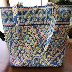 VERA BRADLEY Tote/Shoulder Bag Capri Blue 2007